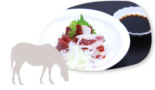 熊本県の雄大な土地で育った馬